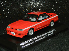 Kyosho 1/43 Nissan Skyline 2 Door Sports Coupe (R31) Red MiB