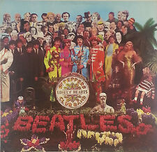 The Beatles Sgt. Peppers Lonely Heartclub 12 Zoll LP  K98 washed - cleaned