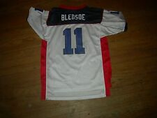 Drew Bledsoe Buffalo Bills 3-Color sz18/20 Jersey,REEBOK QUALITY,GR8 CHEAP GIFT