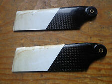 95 mm CARBON FIBRE TAIL ROTOR BLADES