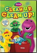 BARNEY CLEAN UP CLEAN UP New Sealed DVD