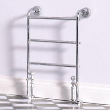Dolls House Emporium 1:12th Scale  Traditional Chrome Heated Towel Rail (5536)