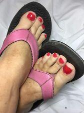 Well Worn Flip Flops Pink Size 9 Womens