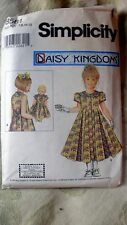 Girl and Doll Daisy Kingdom Sewing Pattern Sizes 7 to 12 Uncut