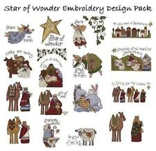 OESD Embroidery Machine Designs CD STAR OF WONDER by Nancy Halvorsen