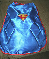 SUPERGIRL Child's Blue Silk Cape NWOT embroidered-ADD A NAME FREE!