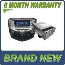 NEW 04-07 Honda Accord BLOCK ONLY 6 Disc CD Changer Radio 7BK1 7BK2 7BY1 EXL