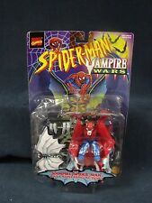 Spider-man Vampire Wars Bat Launching Action Toy Biz 1996 Box is Damaged