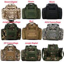Sport Tactical Military Canvas Handbag DSLR SLR Camera Case Shoulder Bag Black