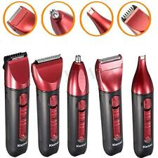 5In1 Rechargeable Washable Electric Nose Ear Trimmer Razor Hair Clipper Shaver