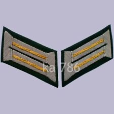 WWII GERMAN ARMY OFFICER CAVALRY WEHRMACHT HEER COLLAR TABS