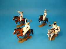 DSG ARGENTINA * TEUTONIC KNIGHTS CRUSADERS MOUNTED (BLACK CROSSES)* TOY SOLDIERS