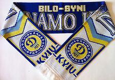 DYNAMO KIEV Football Scarves NEW from Superior Acrylic Yarns