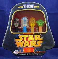 Star Wars PEZ Limited Edition Collectors Embossed Tin aa113