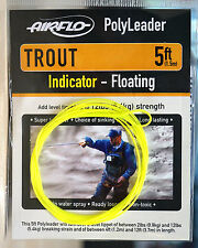 AIRFLO Polyleader TROUT 5ft /1,50 Mtr. INDICATOR FLOATING