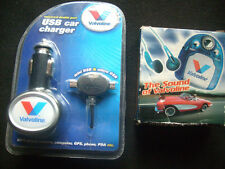 Valvoline Oils: USB Car Charger & FM Auto Scan Radio,Sealed in Original Packing.