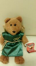 """Angelic Beans Abraham father of many nations plush bean bag bear 9"""" Protech"""