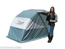 Speedway Retractable Motorcycle Cover Shelter Harley Touring / Metric models