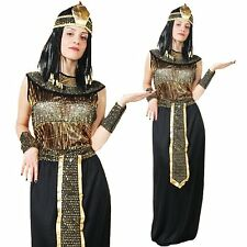 Sexy Eygptian Queen Cleopatra Goddess Halloween Outfit Women Fancy Dress Costume