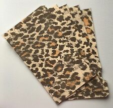Filofax Personal Planner - Gorgeous Leopard Print Dividers x5 - Fully Laminated