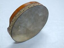 UNOSELL ::  32 x 6 cm  ANIMAL SKIN BENDIR TURKISH PERCUSSION  FRAME DRUM NEW!!!