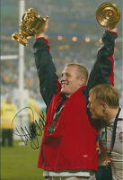Mike TINDALL Signed Autograph Photo AFTAL COA England RUGBY World Cup Winner