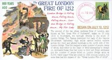 """COVERSCAPE computer designed 800th of the """"Great London Fire of 1212"""" cover"""