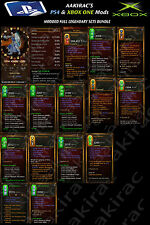 Diablo 3 XBOX One PS4 Bundled Deal #3 Classes 56x Items - Monk, DH, WD, Wizard