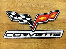 New Chevrolet CORVETTE Racing Car Patch Iron on Jacket T-shirt Cap Logo Badge