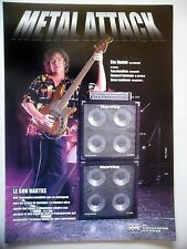 PUBLICITE-ADVERTISING :  Amplis HARTKE  03/2001 Stu Hamm