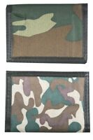 Army Camouflage Wallet - Boys Stocking Filler Party Favour Costume