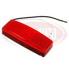 RED SIDE MARKER LED LAMP 4 LED UNIVERSAL 12 OR 24 VOLT  VAN COMMERCIAL CARAVAN