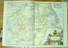 Westfalen alte Landkarte Reproduktion 60 x 43 cm (Janssonius 1657)