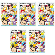 5 Packs 50 Photos Disney Tsum Tsum FujiFilm Fuji Instax Mini Film Polaroid SP-1
