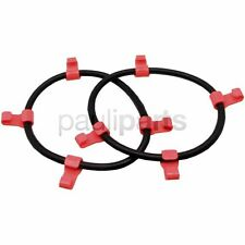 Snow Chains, Clamping Rubber M.pvc-haken, Fixed 20 x 8.00-10, 23 x 8.50-12