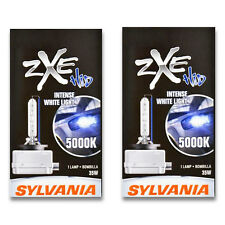 Sylvania SilverStar zXe - High Beam Low Beam Headlight Bulb - 2004-2015 fa