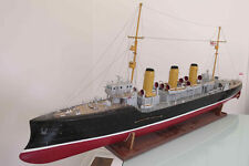 "Genuine, elegant wooden model ship kit by Deans Marine: the ""HMS Skirmisher"""