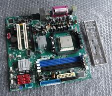 Pegatron AP480C-S REV. 1.03 Socket AM2 Motherboard with Processor and Back Plate