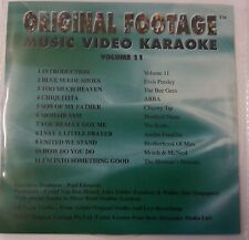 Original Footage Karaoke Disc VCD Vol 11 - Original Videos & Artist *Very Rare*