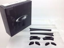AUTHENTIC OAKLEY FLAK JACKET EAR SOCKS & NOSE PADS KIT. NEW! 06-210 BLACK