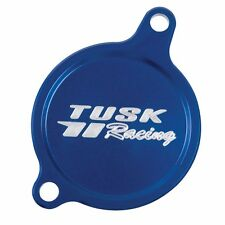 Tusk Aluminum Oil Filter Cover Blue KX450F KLX450R KFX450R