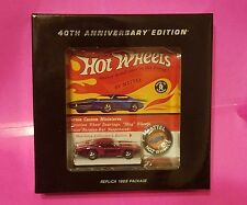 RARE PINK Hot Wheels Red Line Club 40th Anniversary Ed. 1968 Replica Custom Otto