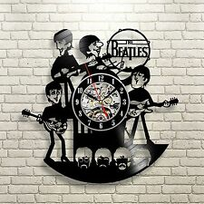 The Beatles Music Nursery_Exclusive wall clock made of vinyl record