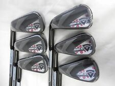 New LH Callaway RAZR X Black Womens Iron Set 4-8,AW Graphite Ladies 4-8+AW Irons
