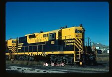 Original Slide Rarus Railway /BA&P Paint GP9 105 In 1987 At Butte MT