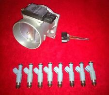 Ford RACING 4.6 5.0 Mustang GT Cobra 80mm Mass Air and 24lb Bosch Injectors WOW