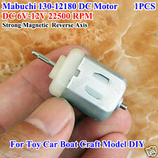 Mabuchi 130 Motor High Speed DC 6V-12V 22500RPM Carbon Brush Motor for Toy Car