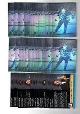 2X PAT FALLOON 1991-92 Arena HOLOGRAM NRMT+ Bulk Lot available LIMITED EDITION