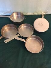 BON CHEF STAINLEES STEEL  COMMERICAL QUALITY RESTAURANT  PANS SET OF THREE