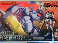 SUPER ROBOT SHIN GETTER 2 SKYNET MODEL KITS G-1134 4905083022849